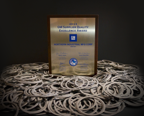 GM Award Northern Industrial Manufacturing