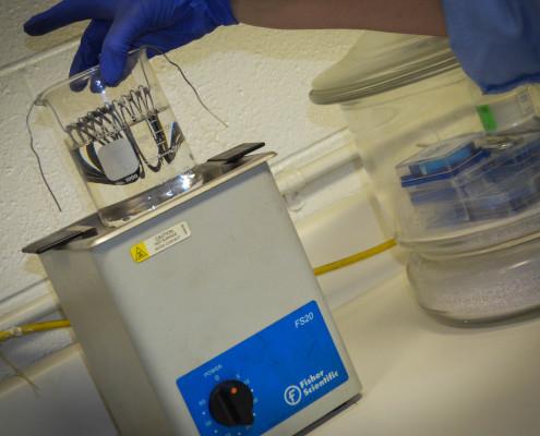 Quality Testing Sediment
