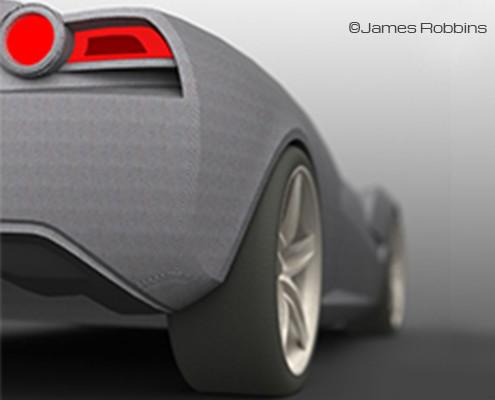 James Robbins Corvette