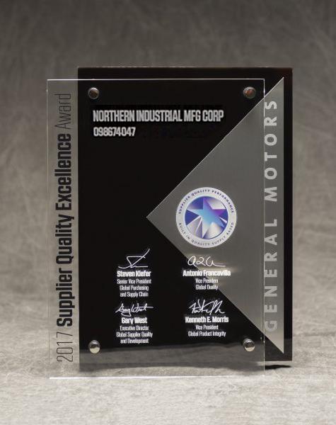 GM Supplier Award 2017